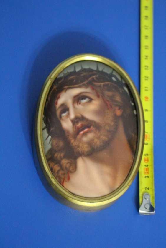 "Plaque ""Jesus in crown of thorns"" - photo 1"