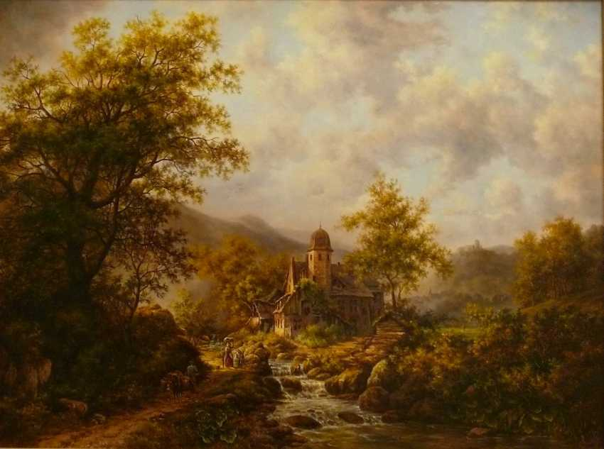 SERGEI IAKUSHCHENKO. Paysage avec une rivière - photo 1