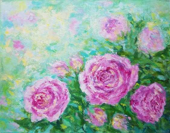 Olga Malamud-Pavlovich. Roses in the garden - photo 1