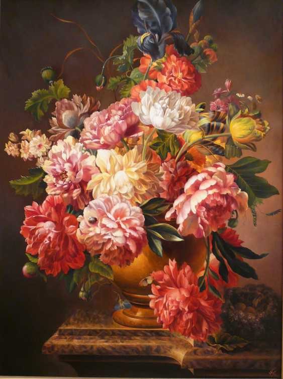 GALINA KURILENKO. Flowers, peonies - photo 1
