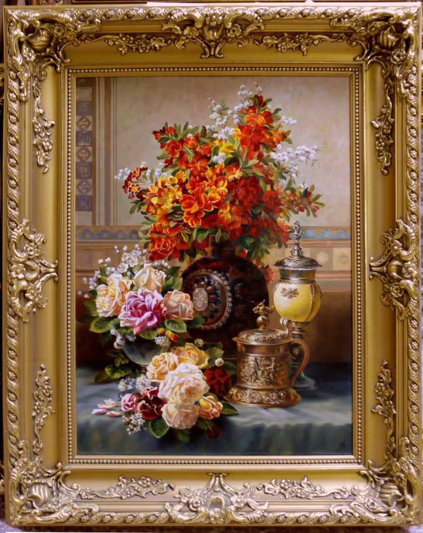 GALINA KURILENKO. Still life with Cup and flowers - photo 2