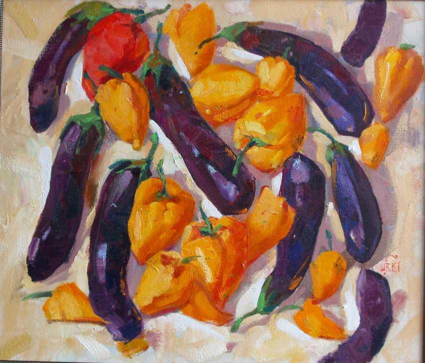 Viacheslav Shulika. Pepper and eggplant - photo 1