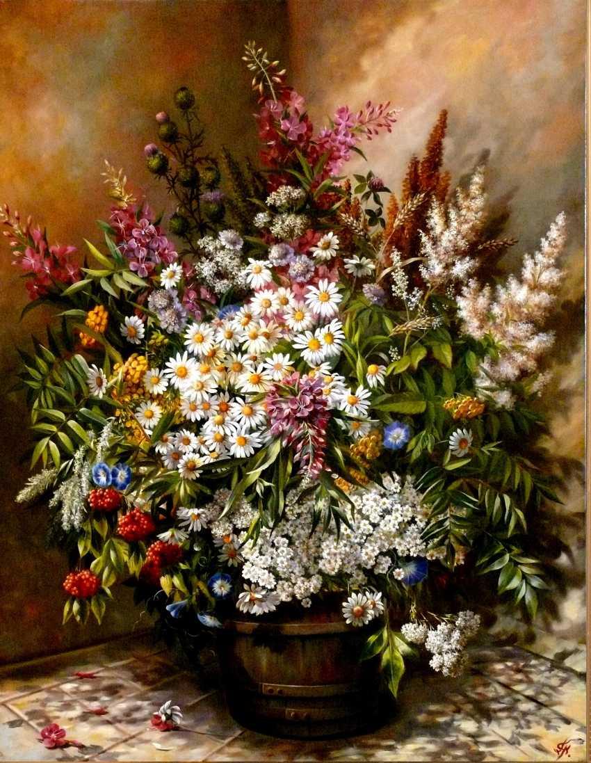 GALINA KURILENKO. Wild flowers - photo 1