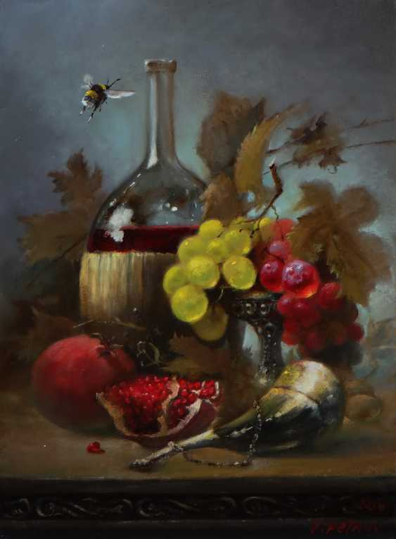 """valery Prtrov. """"Bumblebee and the grapes """" - photo 1"""