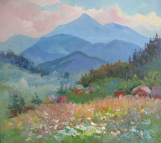 Anna Trachuk. Evening under Hoverla - photo 1