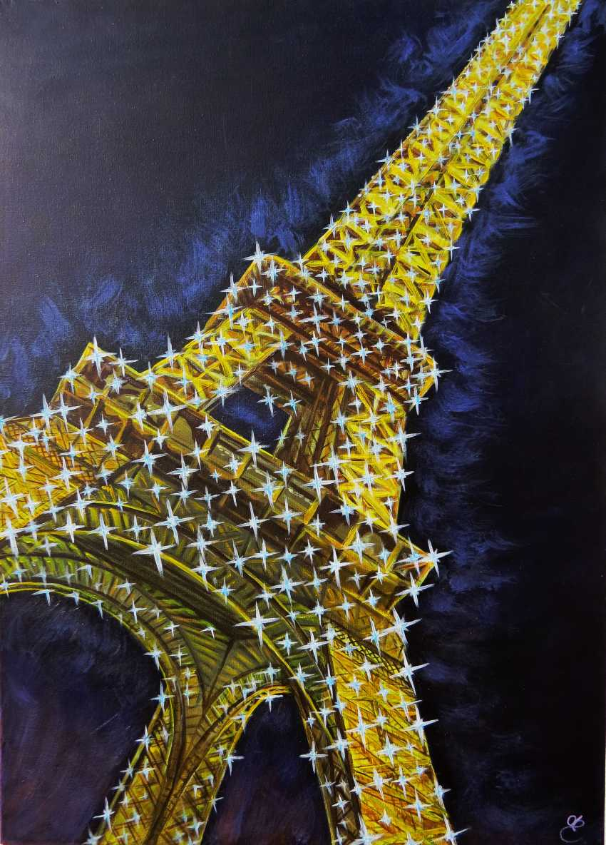 DMYTRO YEROMENKO. Glare of the Tower Eiffel - photo 1