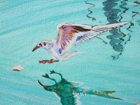 DMYTRO YEROMENKO. feeding seagulls - photo 2