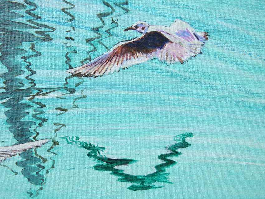 DMYTRO YEROMENKO. feeding seagulls - photo 3