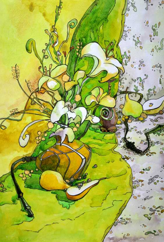 Tatiana Ignat. Yellow Green Still Life - photo 1