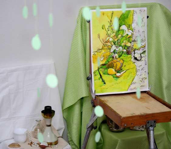 Tatiana Ignat. Yellow Green Still Life - photo 2