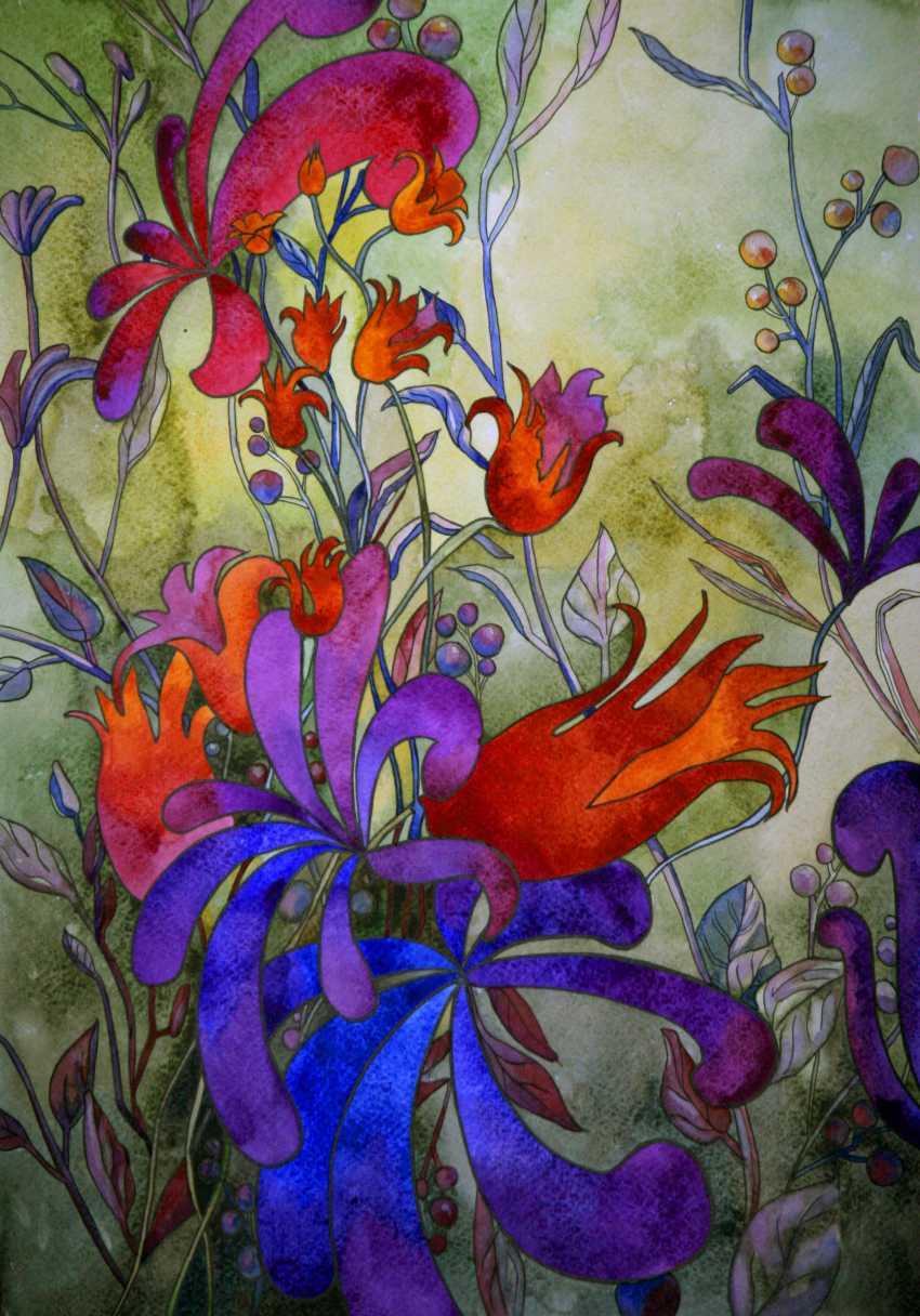 Tatiana Ignat. Red Violet Still Life - photo 1