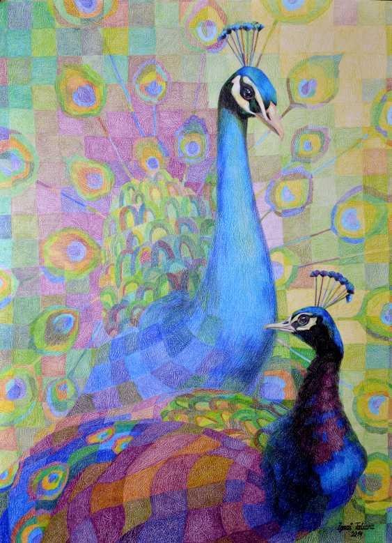 Tatiana Ignat. Peacocks - photo 1