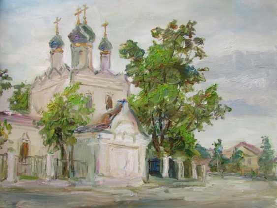 Marina Novikova. White Church on Taganskaya street - photo 1