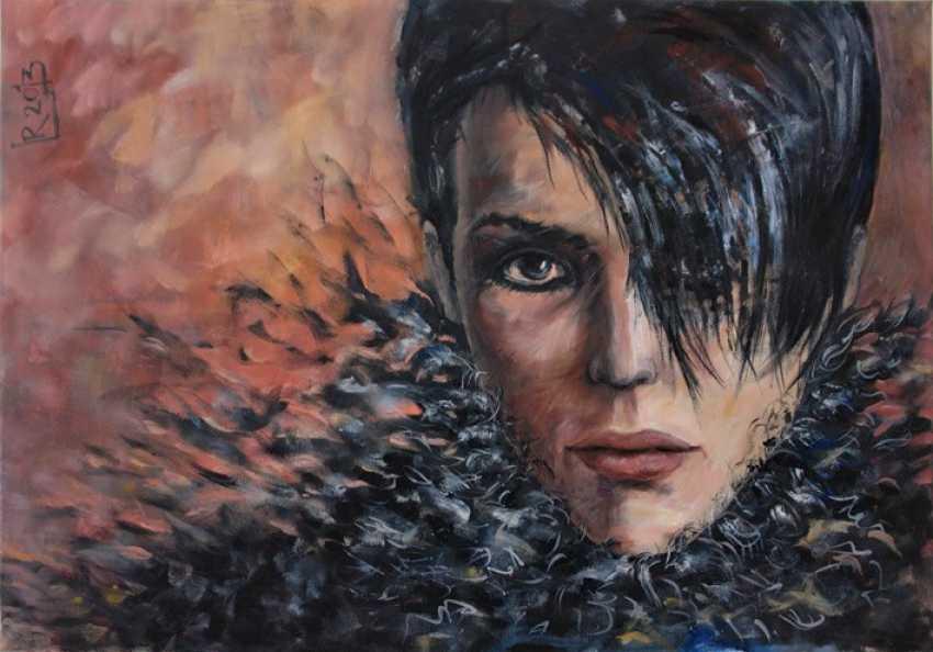"""Redas Luciunas. """"Black feathers"""" - photo 1"""