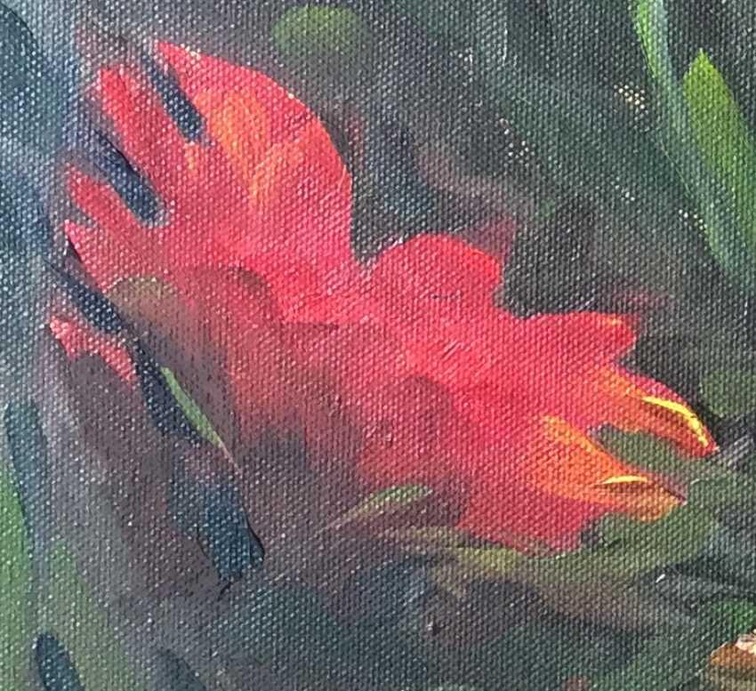 Nataliia Kulikovska. Red flowers - photo 2