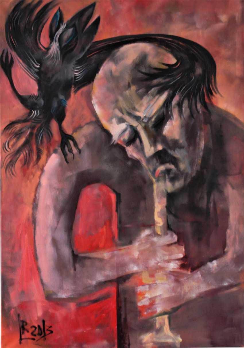 """Redas Luciunas. """"The musician and dancer"""" - photo 1"""