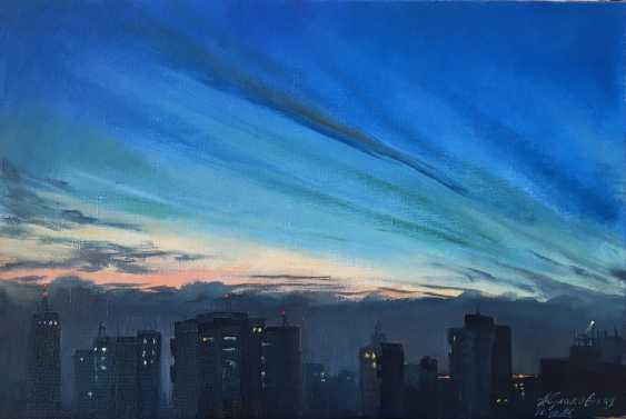 Nataliia Kulikovska. City at dusk - photo 1