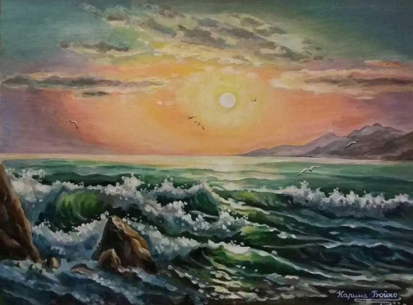 Karyna Boiko. The open sea - photo 1