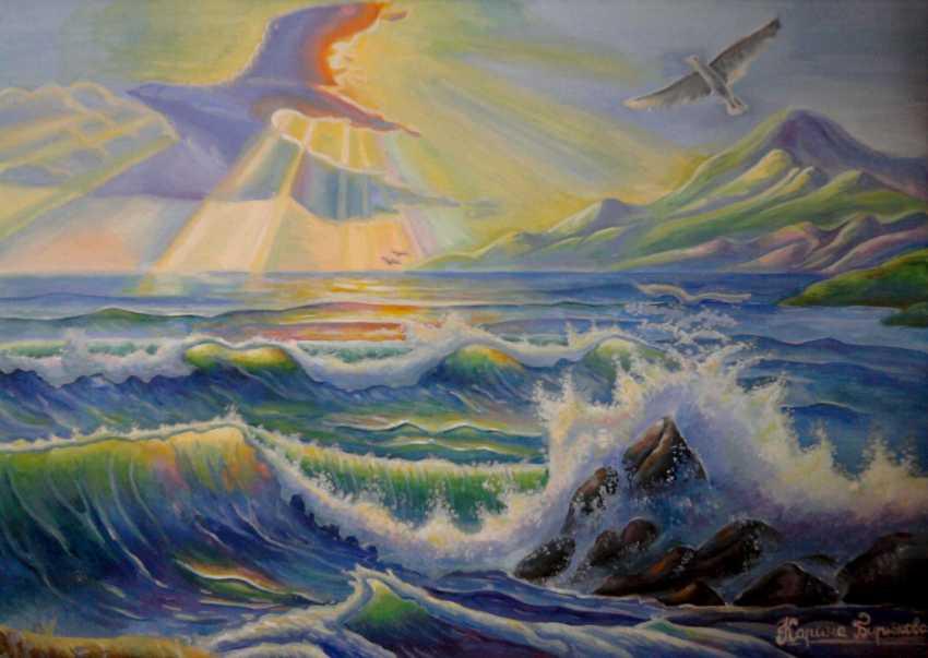 Karyna Boiko. Himmel, Meer, Wolken... - Foto 1