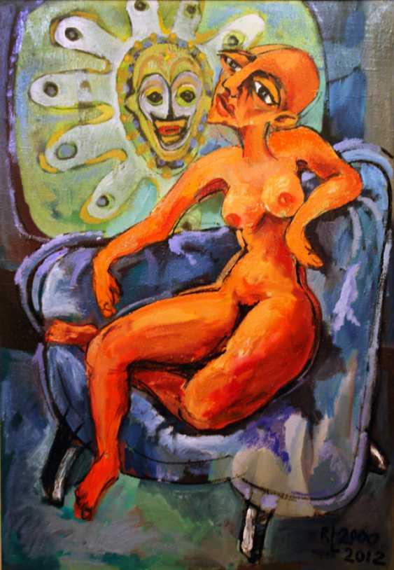 """Redas Luciunas. """"Bright posing woman"""" - photo 1"""