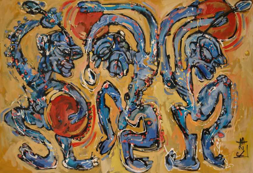 Редас Лучюнас. «Танцующие шаманы» - фото 1