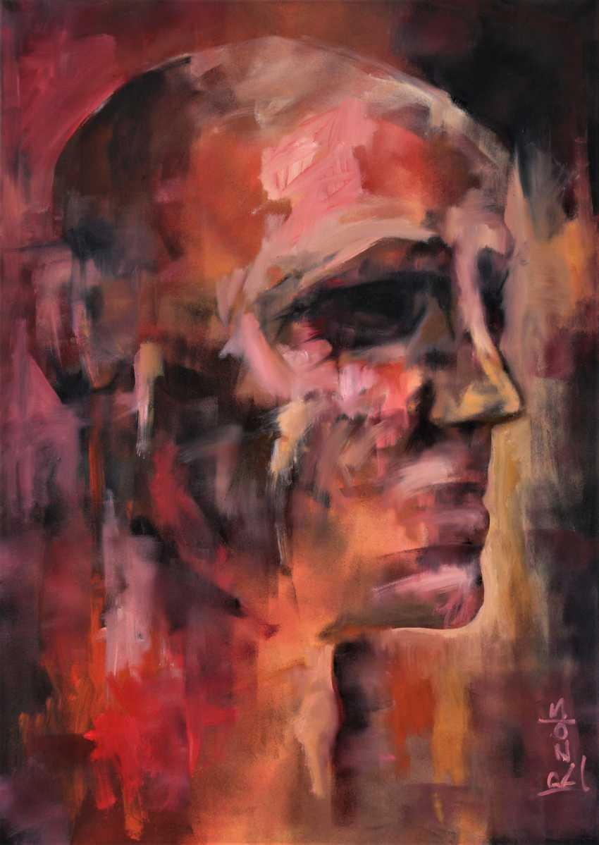 """Redas Luciunas. """"Portrait of a man"""" - photo 1"""