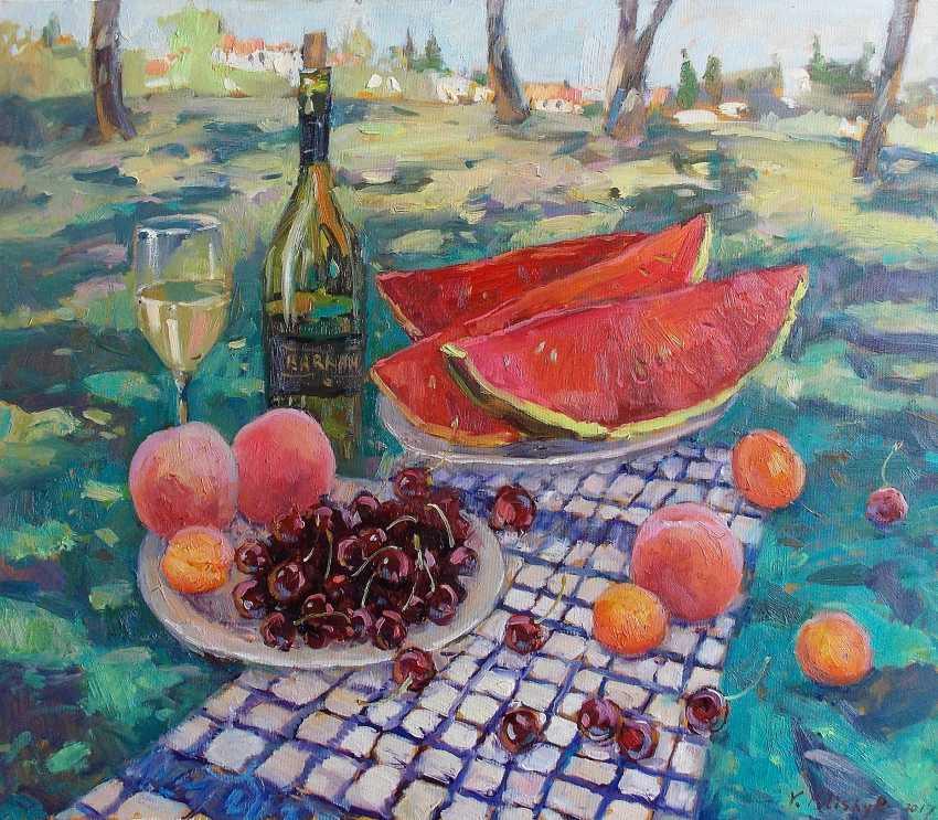 "Vladislava Turskay. ""Still life with white wine"" - photo 1"