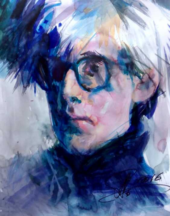 Aleksey Tochin. Portrait of Andy Warhol - photo 1