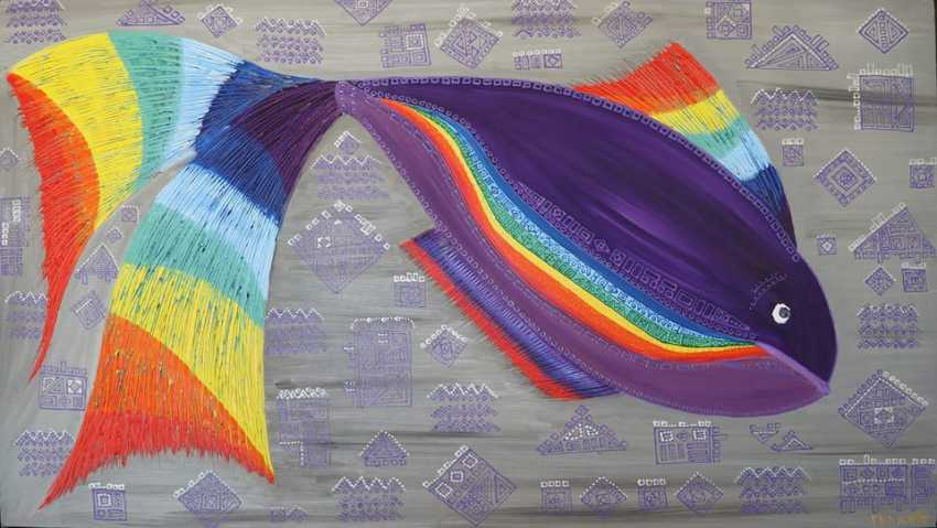 Narine Gevorgyan. Rainbow fish - photo 1