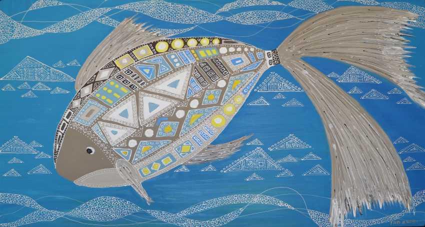 Narine Gevorgyan. Fish mosaic - photo 1