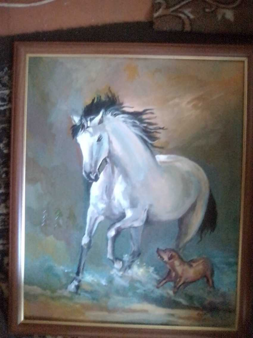 TAMARA KOTOLKYAN. WHITE HORSE - photo 1