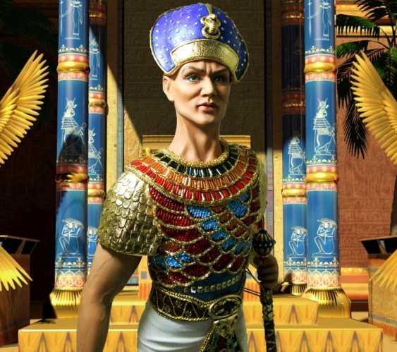 Margarita Kazantseva. Collectible doll Ramses II - photo 1