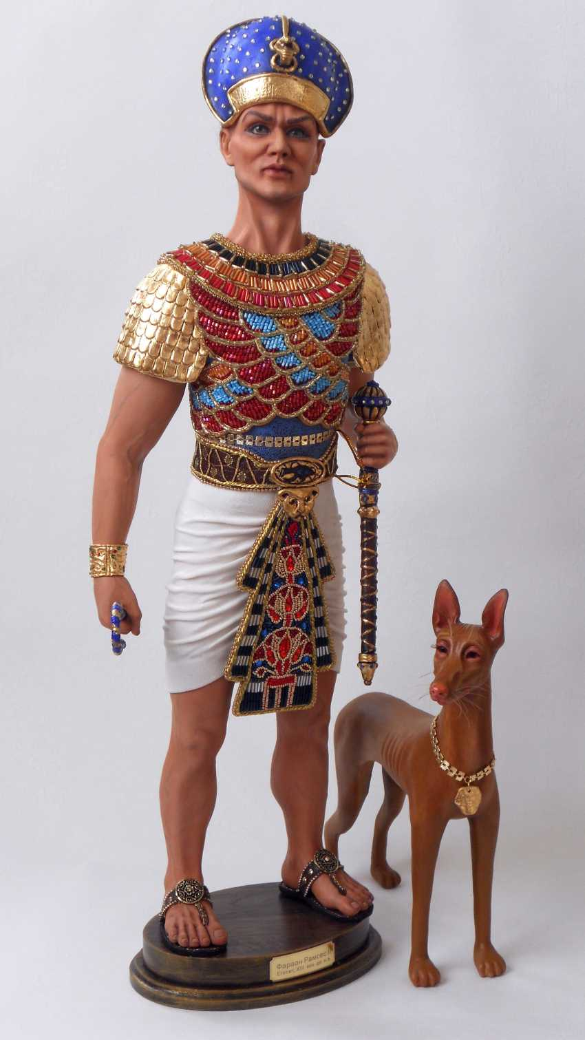 Margarita Kazantseva. Collectible doll Ramses II - photo 2