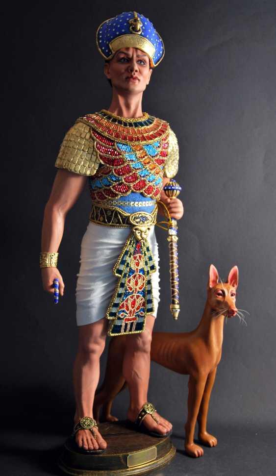 Margarita Kazantseva. Collectible doll Ramses II - photo 3