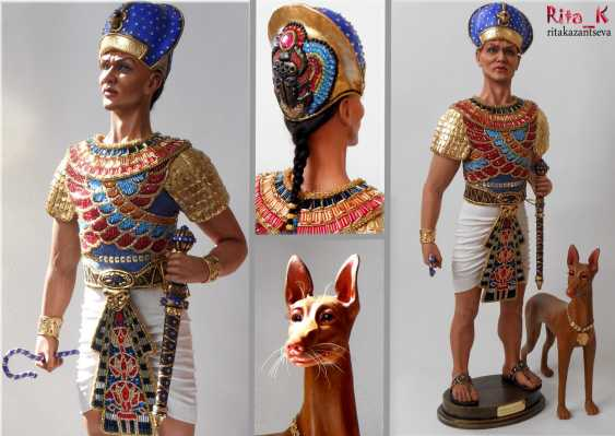 Margarita Kazantseva. Collectible doll Ramses II - photo 4