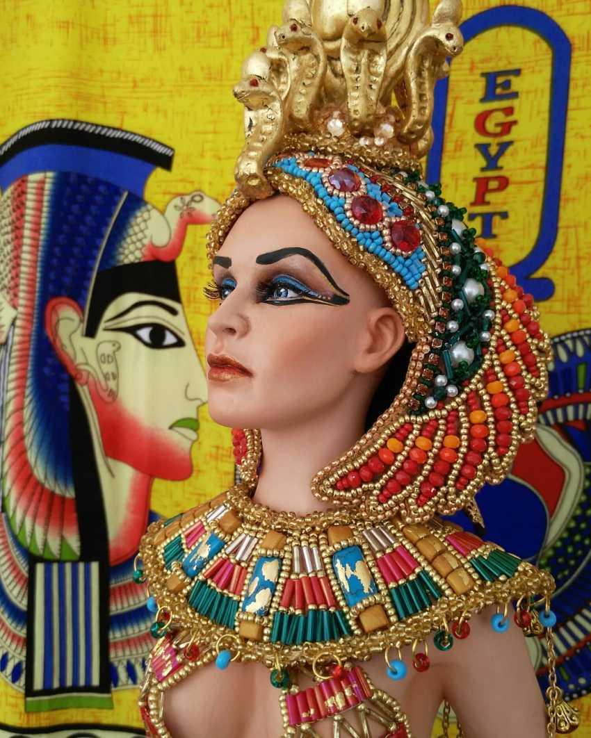 Margarita Kazantseva. Collectible doll Cleopatra - photo 1