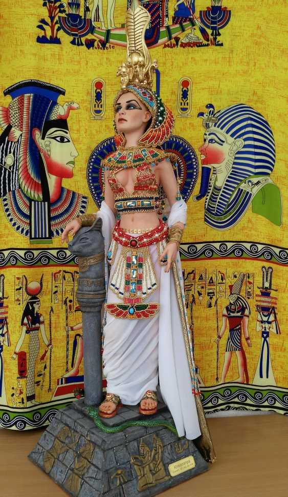 Margarita Kazantseva. Collectible doll Cleopatra - photo 4