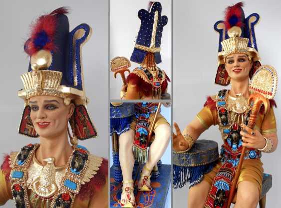 Margarita Kazantseva. Collectible doll the Pharaoh SETI - photo 2