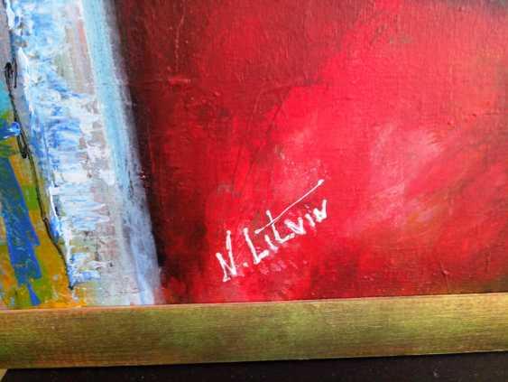 "Nina Litvin. ""Girl with parrot"" - photo 2"