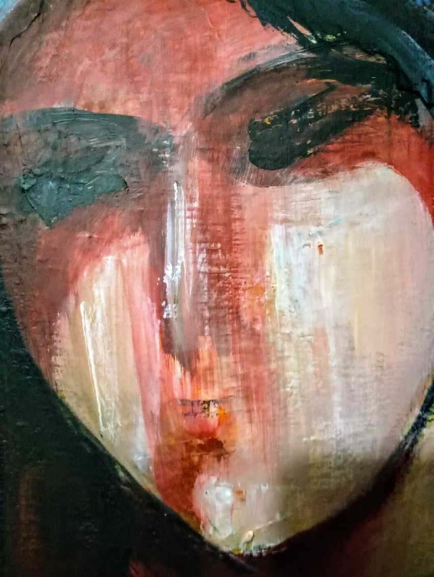 "Nina Litvin. ""Girl with parrot"" - photo 3"