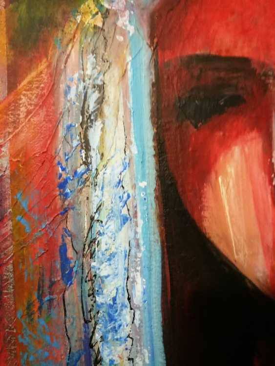 "Nina Litvin. ""Girl with parrot"" - photo 4"