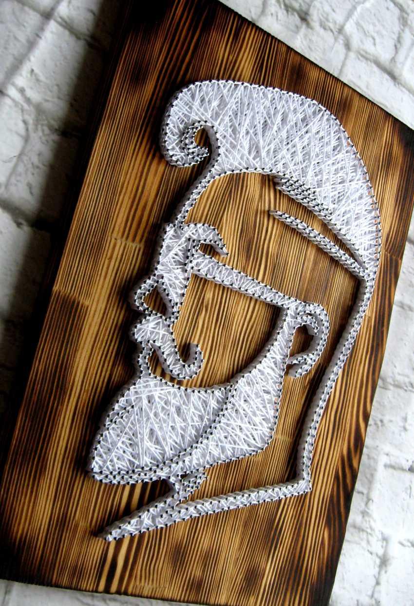 Alla Anisimova. Barber Shop Decoration - photo 2