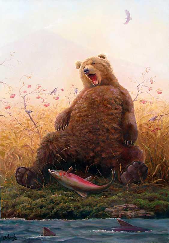 Artur Kovalev. Ready to go to sleep. Kornouh ready for hibernation. - photo 1