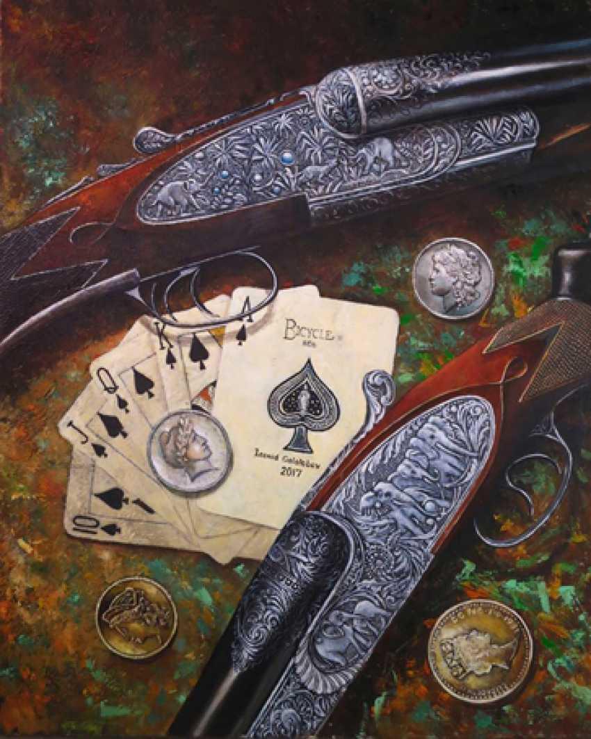 Leonid Gololobov. Cards, money, two trunk. - photo 1