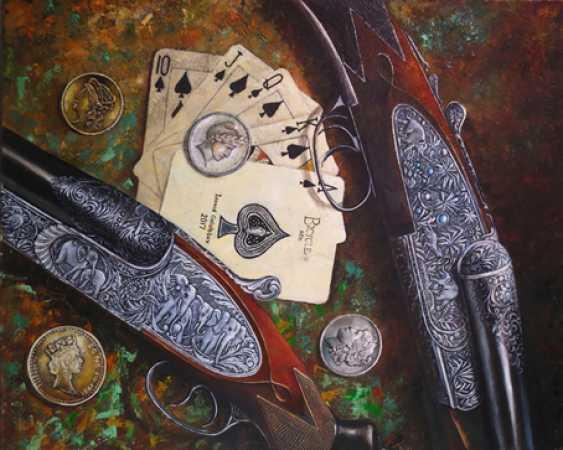 Leonid Gololobov. Cards, money, two trunk. - photo 2