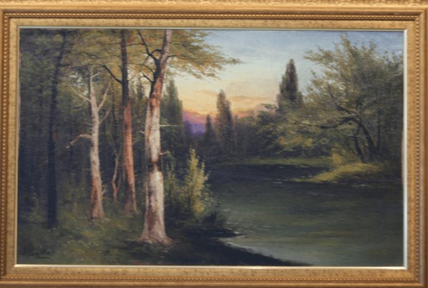 "The Painting ""Forest Landscape"", Kapustin G. I. - photo 1"