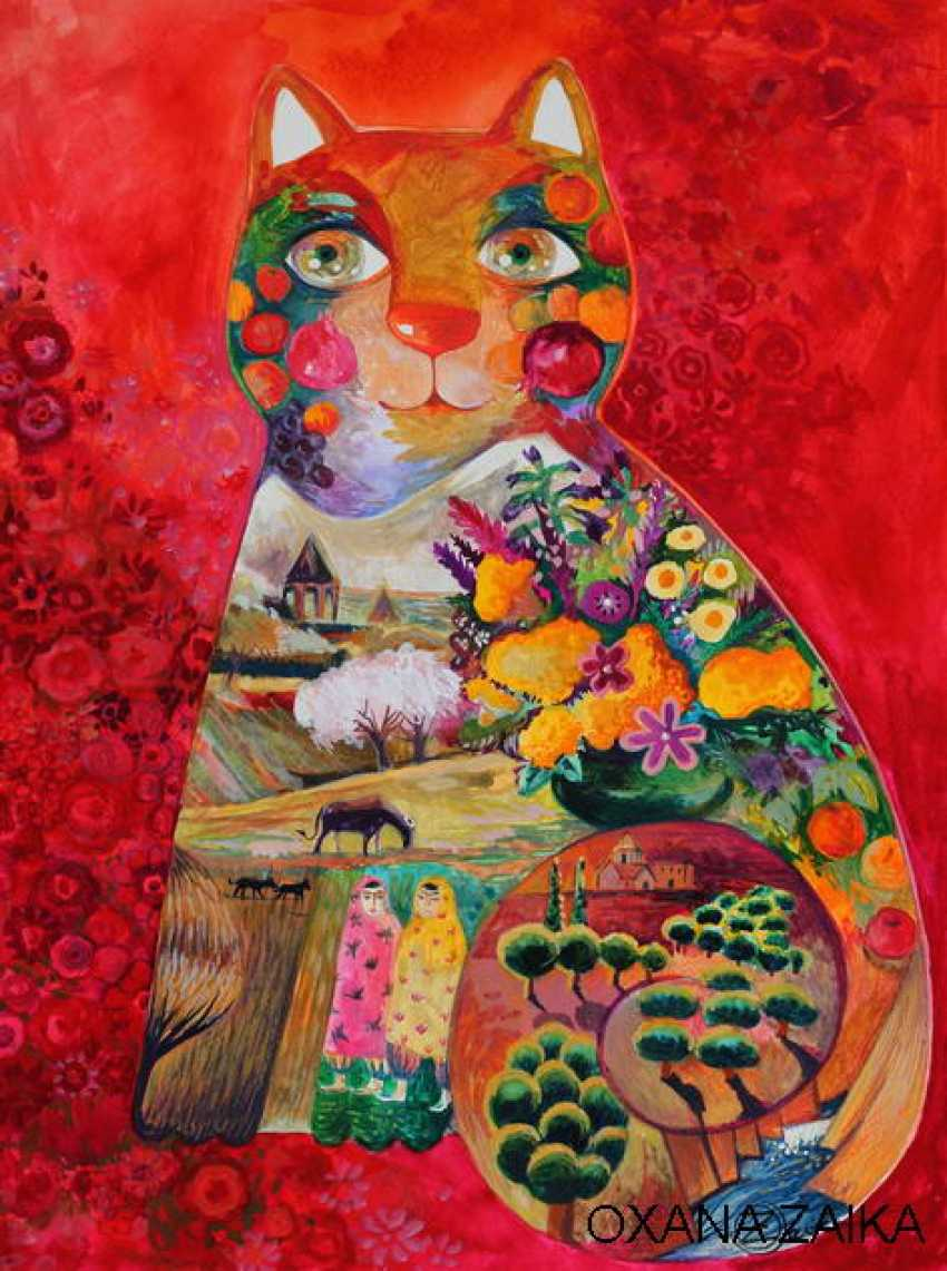 OXANA ZAIKA. Armenian cat - photo 1