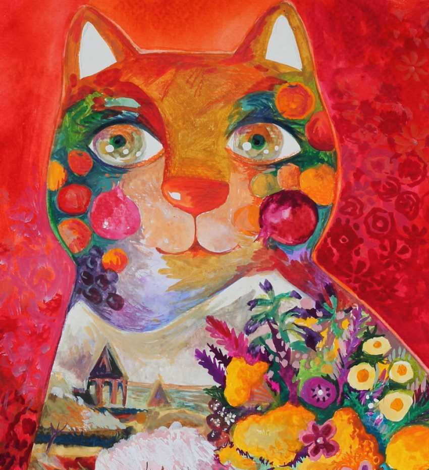 OXANA ZAIKA. Armenian cat - photo 2