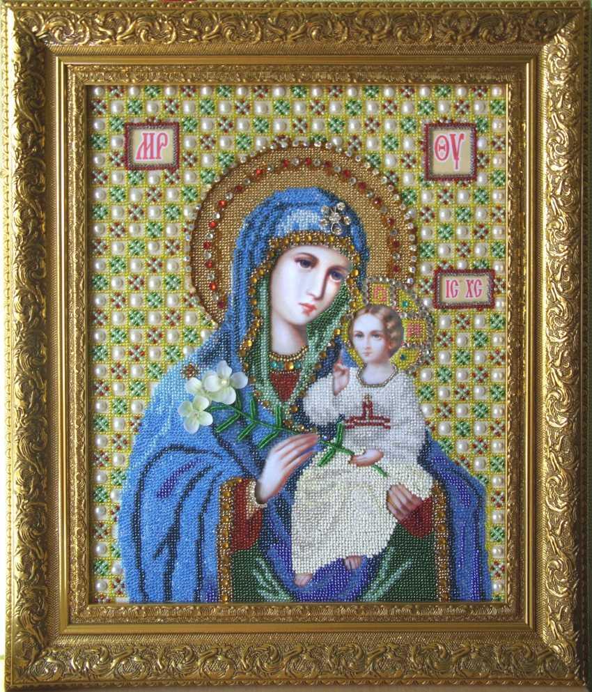 "Svetlana Cernih. Die Ikone der ""Jungfrau Maria mit Kind"" - Foto 1"