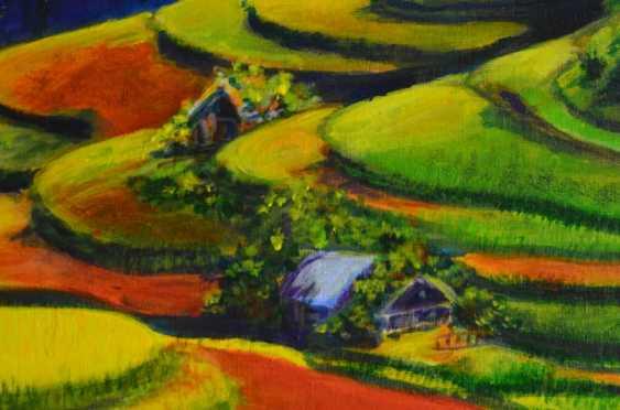 LIUDMYLA KHAPATKO,. China field ( Rice fields of China) - photo 3